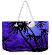 Night On The Islands Painterly Brushstrokes Weekender Tote Bag