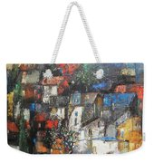 Night Over The Town Weekender Tote Bag