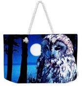 Night Owl Weekender Tote Bag