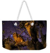 Night Owls Weekender Tote Bag