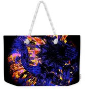 Night Pumpkin Iridescence Weekender Tote Bag