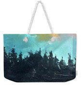 Night River Weekender Tote Bag