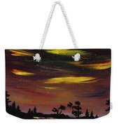 Night Scene Weekender Tote Bag