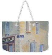 Night Scene In Arles France Weekender Tote Bag