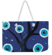 Night Sentry Weekender Tote Bag