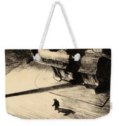 Night Shadows Weekender Tote Bag by Edward Hopper