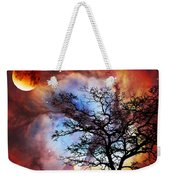 Night Sky Landscape Art By Sharon Cummings Weekender Tote Bag