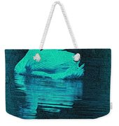 Night Swan L Weekender Tote Bag