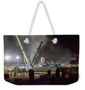 Night Time Frac Weekender Tote Bag