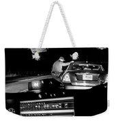 Night Traffic Stop Weekender Tote Bag by Bob Orsillo