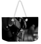 Night Traffic Stop Two Weekender Tote Bag by Bob Orsillo