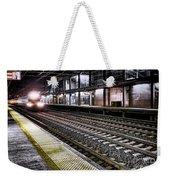 Night Train Weekender Tote Bag