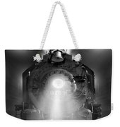 Night Train On The Move Weekender Tote Bag