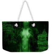 Night Vision Woman Weekender Tote Bag
