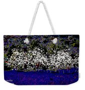 Night With Almond Flowers Weekender Tote Bag