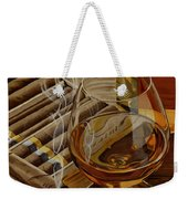 Nightcap Weekender Tote Bag by Cory Still