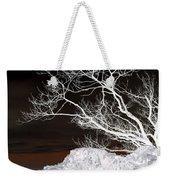 Nightfall Negative Weekender Tote Bag