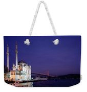 Nightfall Over Istanbul Weekender Tote Bag