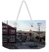 Nightfall Over Monterey Cannery Row California 5d25146 Weekender Tote Bag