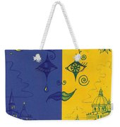 Nightime And Daytime In Venice Weekender Tote Bag