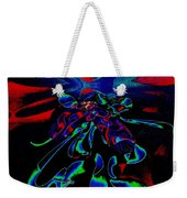 Nightly Expression Of Rhythms Weekender Tote Bag