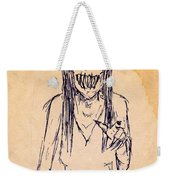 Nightmare Sketch Weekender Tote Bag