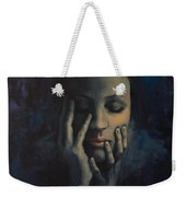 Nights In July Weekender Tote Bag