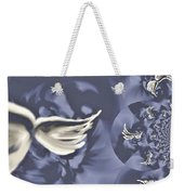 Nights In White Satin Weekender Tote Bag by Absinthe Art By Michelle LeAnn Scott