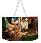Nighttime Vendor Weekender Tote Bag