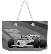 Niki Lauda. 1984 British Grand Prix Weekender Tote Bag