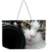 Nikon Kitty Weekender Tote Bag