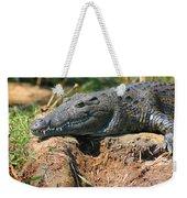 Nile Crocodile Weekender Tote Bag