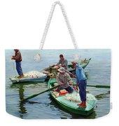 Nile River Fishermen  Weekender Tote Bag