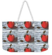 Nine Apples Weekender Tote Bag