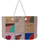 Nine Ladies Lolling Weekender Tote Bag