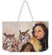 Nine Stars Woman / Wise Counsel Weekender Tote Bag