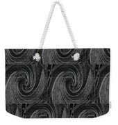 Nine Times On Black Weekender Tote Bag