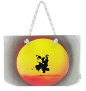 Ninja Duel In The Sun Weekender Tote Bag