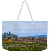 Nisqually Delta Of The Nisqually National Wildlife Refuge Weekender Tote Bag
