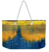 Nisqually Reflection Weekender Tote Bag by Nancy Merkle