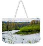 Nisqually River From The Nisqually National Wildlife Refuge Weekender Tote Bag
