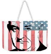 Lyndon Johnson Weekender Tote Bag