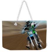 Motorcross No. 116 Weekender Tote Bag