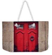 No. 24 - The Red Door Weekender Tote Bag