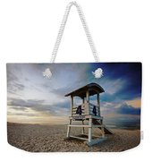 No 4 Lifeguard Station Weekender Tote Bag