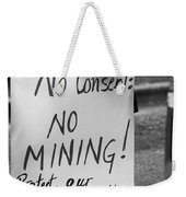 No Consent X Weekender Tote Bag