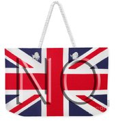 NO Weekender Tote Bag