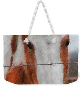 No Fences Weekender Tote Bag