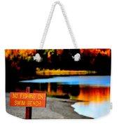 No Fishing IIi Weekender Tote Bag