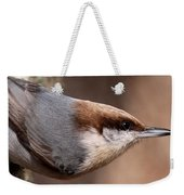 No Hands - Fayetteville - Nuthatch Weekender Tote Bag